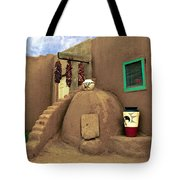 Taos Oven Tote Bag by Jerry McElroy