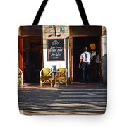 Tapas Bar Tote Bag
