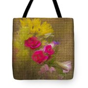 Tapestry Bouquet Tote Bag