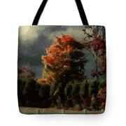 Tapestry Of Clouds Tote Bag
