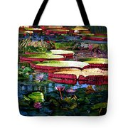 Tapestry Of Color And Light Tote Bag