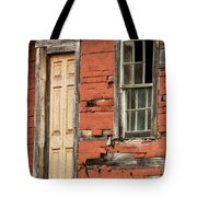 Tar-paper House Door And Window Tote Bag