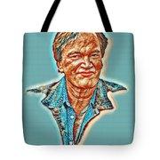 Tarantino Portrait Tote Bag