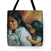 Tarascan Woman Tote Bag