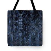 Targyle Pitch Black Pattern 1 Tote Bag