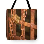 Tarnished Image Tote Bag