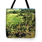 Taro Fields Tote Bag
