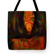 Tarot Candle Tote Bag