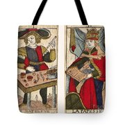 Tarot Cards, C1700 Tote Bag