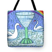Tarot Of The Younger Self Ace Of Cups Tote Bag