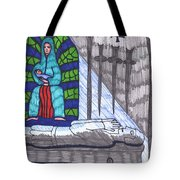 Tarot Of The Younger Self Four Of Swords Tote Bag