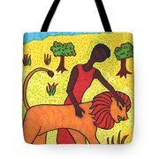 Tarot Of The Younger Self Strength Tote Bag