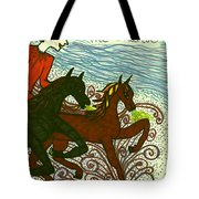 Tarot Of The Younger Self The Chariot Tote Bag