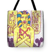 Tarot Of The Younger Self The Emperor Tote Bag