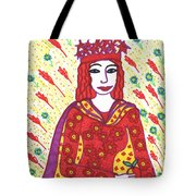Tarot Of The Younger Self The Empress Tote Bag