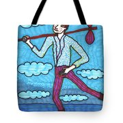 Tarot Of The Younger Self The Fool Tote Bag