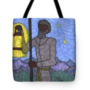 Tarot Of The Younger Self The Hermit Tote Bag