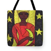 Tarot Of The Younger Self The High Priestess Tote Bag