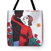 Tarot Of The Younger Self The Lovers Tote Bag