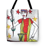 Tarot Of The Younger Self The Magician Tote Bag