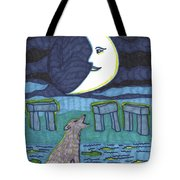 Tarot Of The Younger Self The Moon Tote Bag