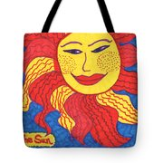 Tarot Of The Younger Self The Sun Tote Bag