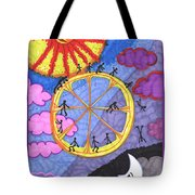 Tarot Of The Younger Self The Wheel Tote Bag