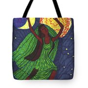Tarot Of The Younger Self The World Tote Bag