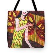 Tarot Of The Younger Self Three Of Pentacles Tote Bag