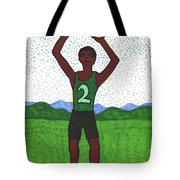 Tarot Of The Younger Self Two Of Pentacles Tote Bag