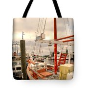 Tarpon Springs Harbor Tote Bag