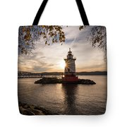 Tarrytown Lighthouse Tote Bag