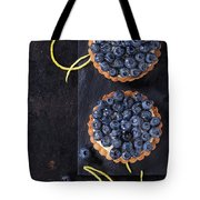 Tartlets With Blueberries Tote Bag