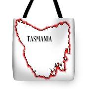 Tasmania Tote Bag