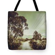 Tasmania Country Roads Tote Bag