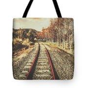 Tasmanian Country Tracks Tote Bag