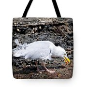 Tasty Crab For Breakfast Tote Bag