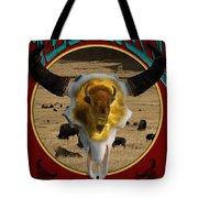 Tatanka American Bison Tote Bag