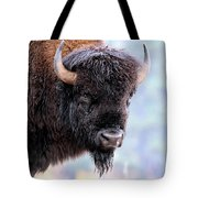 Tatanka Portrait Tote Bag