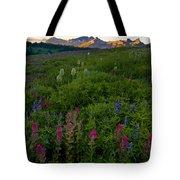 Tatoosh Dawn Tote Bag