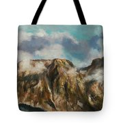 Tatry Mountains- Giewont Tote Bag