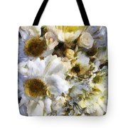 Tattered Bouquet Tote Bag