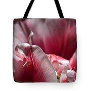 Tattered Tulip Petals Tote Bag