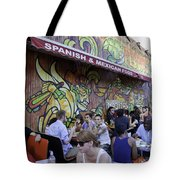 Tattoo Man Tote Bag