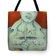 Tattooed Fate Tote Bag