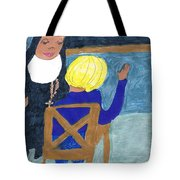 Taught By Nuns Tote Bag