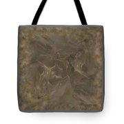 Taupe Fractal Composition Tote Bag