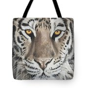 Taupe Tiger Tote Bag