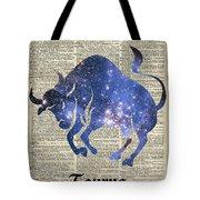 Taurus Tote Bag by Anna W