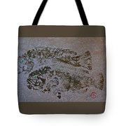 Tautog With Shadow Tote Bag